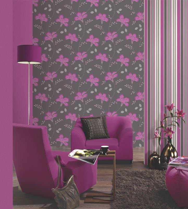 83820543c Attytude | Papel de parede coleção Jewel | Papeis de Parede para ...