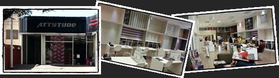 Venha conhecer nosso showroom Attytude Papéis de Parede e Decorações 72ff837b43